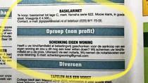 Kamervragen advertentie toepassing schenkvrijstelling eigen woning